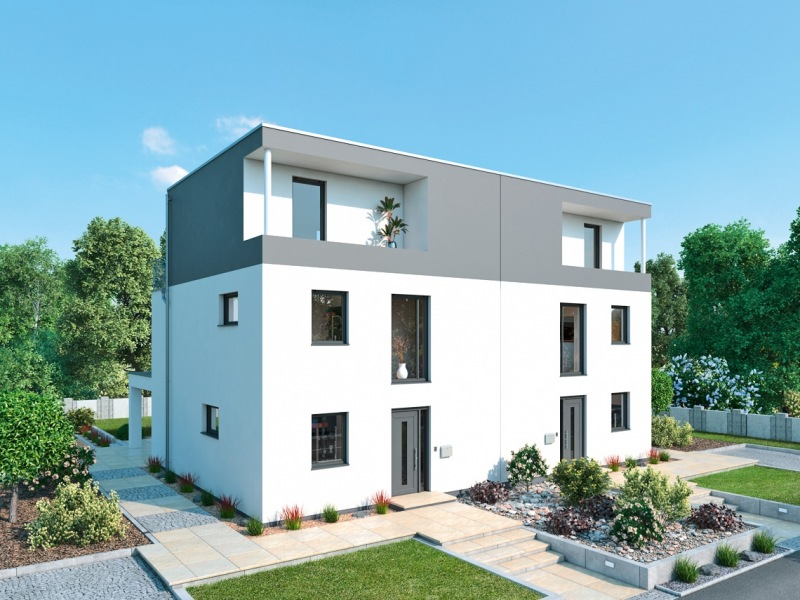Doppelhaus-Norden