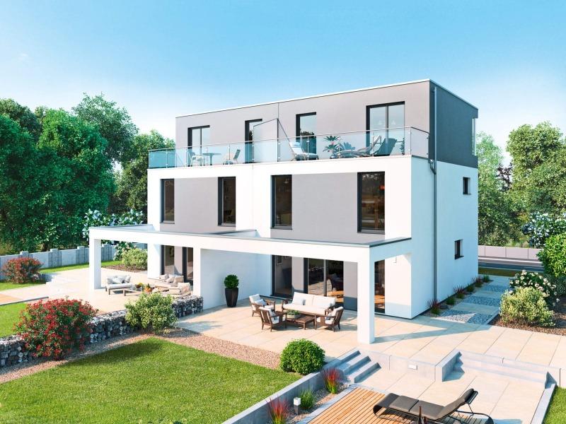Doppelhaus-Sueden