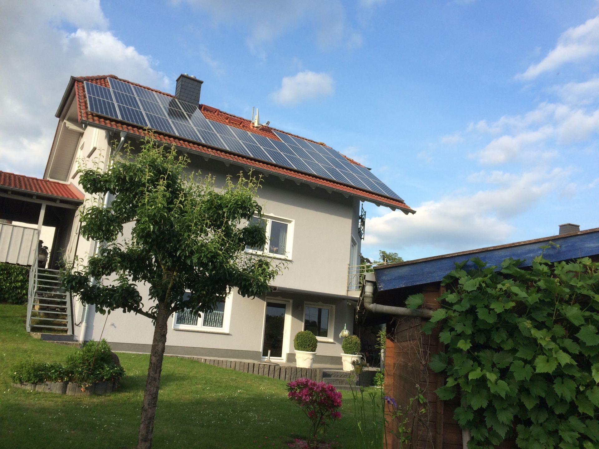 Fi Haus mit Solaranlage 1