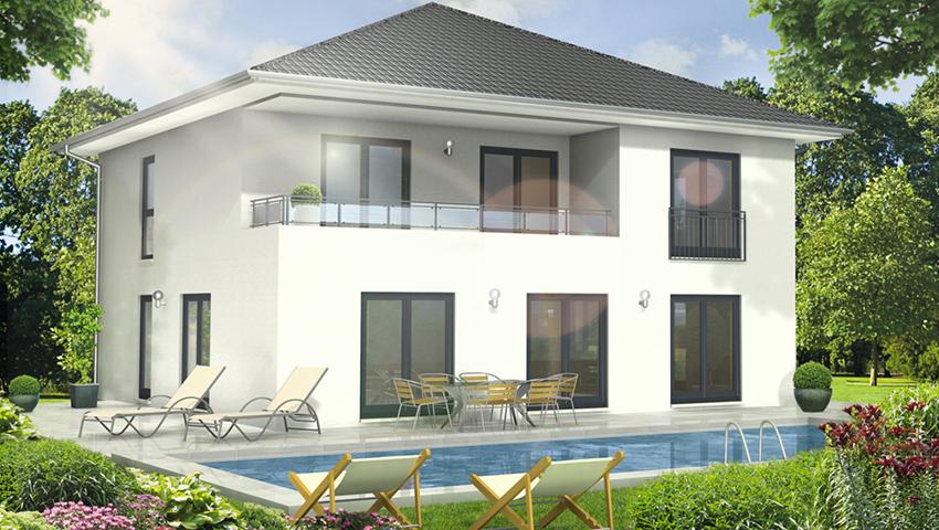 Stadthaus 193 3D Ansicht