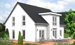 Oberlauken_Haus mit Satteldach